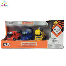 Educational Metal Car Model Diecast Construction Truck Boys Gift Kids Toy Vehicles(China)
