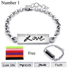 Buy Chains Gift!! 35MM*10MM Silver Love Stainless Steel Essential Oils Aromatherapy Locket Perfume Aromatherapy Bracelet for $3.98 in AliExpress store