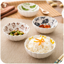 Japanese style dinnerware rice bowl salad bowl soup bowl house use fish design