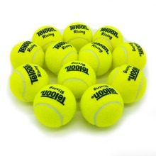 Rising Brand New High Resilience Tennis Ball Durable For Match Ball Fast Free Shipping 12PCS/LOT(China)