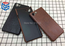 Fashion Crocodile Grain PU Leather Hard Case Back Cover For Blackberry Keyone DTEK70 Leap Z20