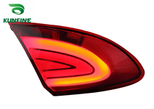 Pair Of Car Tail Light Assembly For PROTON GEN2 2008 LED Brake Light With Turning Signal Light(China)