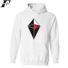 LUCKYFRIDAYF NO MAN'S SKY Fashion Style Hooded Mens Hoodies And Sweatshirts In White Winter Young People Sweatshirts Warm Cotton
