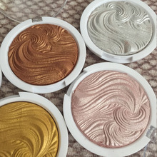 GLOW KIT 3D Shimmer Powder Highlighter Palette Face Base Illuminator Makeup Bronzers Highlight dark skin makeup Primer concealer(China)