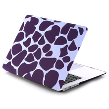 Hard Case Cover Leopard And Stone Pattern High Quality Ultra Thin Light Weight Laptop Shell Cover for Apple Macbook Air 11 11.6(China)