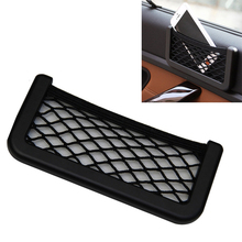 Car Styling 2016 New Brand 1pcs Car Storage Net Automotive Pocket Organizer Bag For Mobile Phone Holder 20X8CM Car Accessories