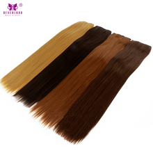 "Neverland Straight Synthetic Hair Clip in Hair Extensions 5Clips One Piece 24"" 60cm Brown Color Women's Natural Color Hairpieces"