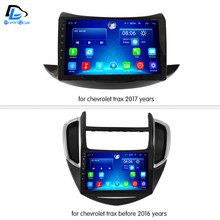 3G/4G+WIFI net navigation dvd android 6.0 system stereo For Chevrolet Trax all years car gps multimedia player radio dashboard