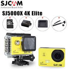 "Original SJCAM SJ5000X Elite 4K 24fps 2K 30fps WiFi 2.0"" LCD Gyro Diving 30m Waterproof Bicycle Mini Outdoor Sport Action Camera"