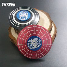 Buy YNYNOO Super Hero Fidget Toy Spider Puzzle Hand Spinner Metal Round Fidget Spinner Spiderman Autism ADHD Finger Gyro Puzzle Toy for $3.90 in AliExpress store