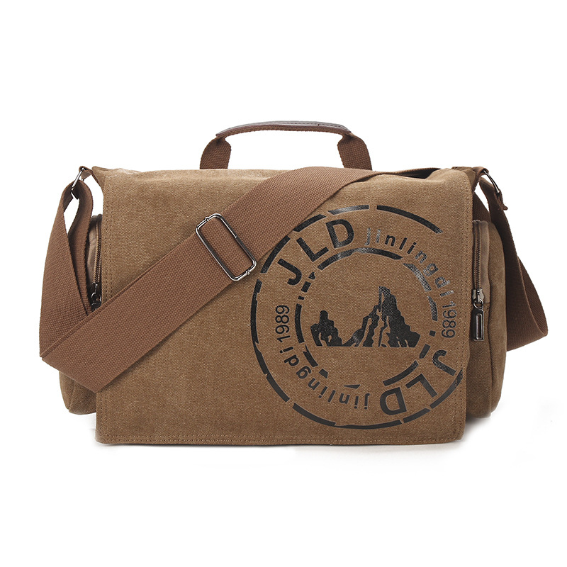 Brand Retro Classic Style Canvas Mens Handbag Messenger Bag Satchel Crossbody Shoulder Bag Casual Travel  Laptop Bag<br>