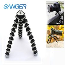 SANGER Camera Mobile Phone Tripod Small/medium/Large Octopus Tripod for Xiaomi YI Camera Go pro Hero 5/4/3+/3 Sj4000