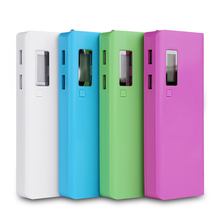 1Pcs (No Battery) 5x18650 Battery Bank Portable Battery Shell Box Case Powerbank 18650 Protector Case Dual USB Output(China)