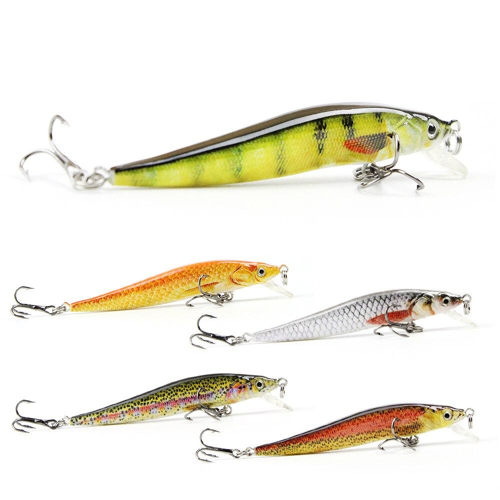 5 Color 6.5cm/2.4g Mini Minnow Fishing Lure Realistic Fishing Bait Unique Texture Crankbait Fish Tackle Pesca Wobbler HML09A<br><br>Aliexpress