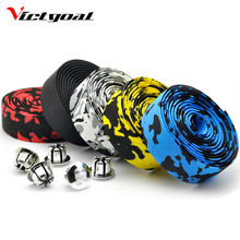 Buy VICTGOAL Bicycle Handlebar Tape Wraps Cycling Road Bike Sports Black Bar Plug Belt Strap Bicycle Bike Handlebar Tape Plug M1801 for $5.32 in AliExpress store