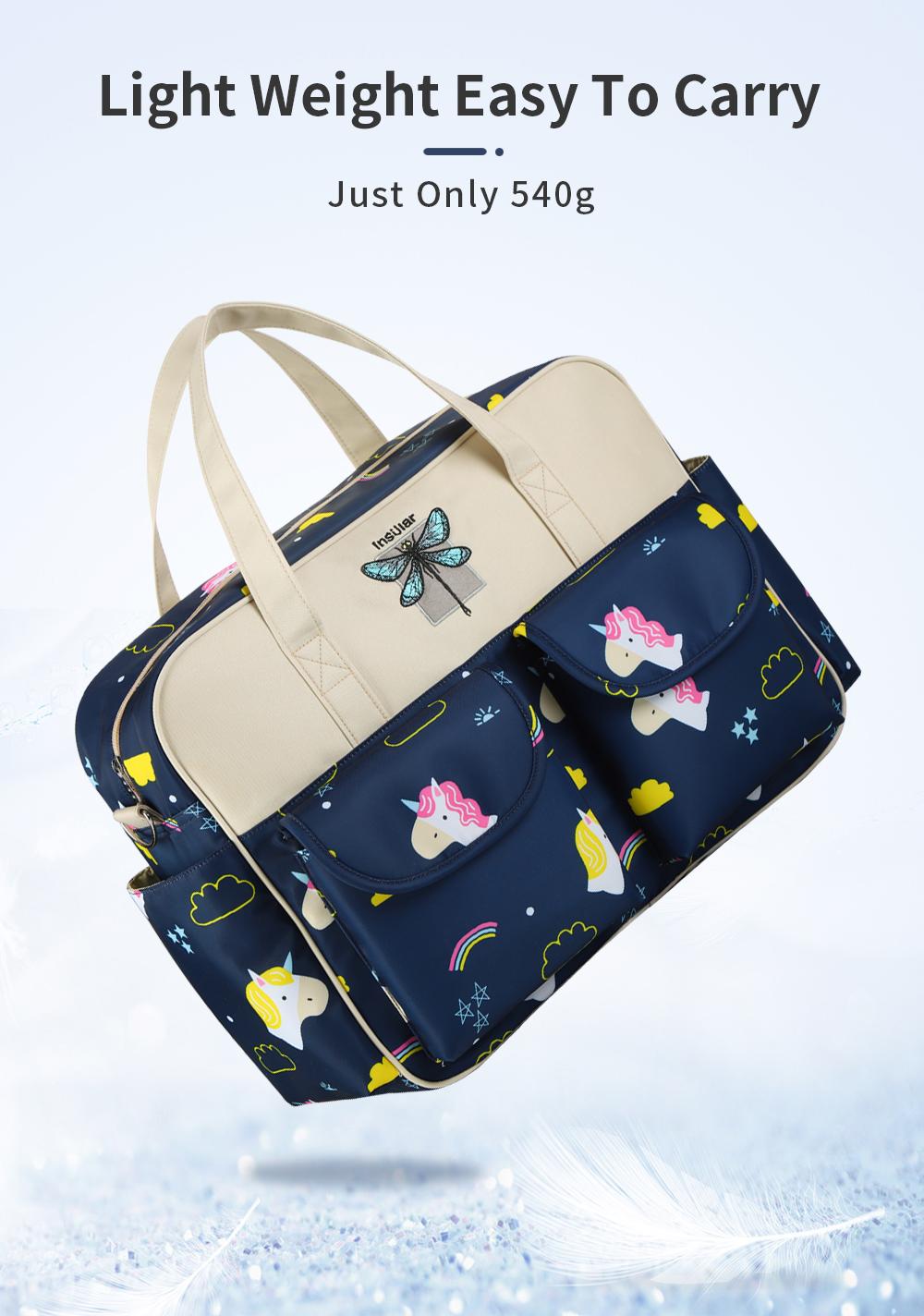 Waterproof Multifunctional Diaper Bag 5