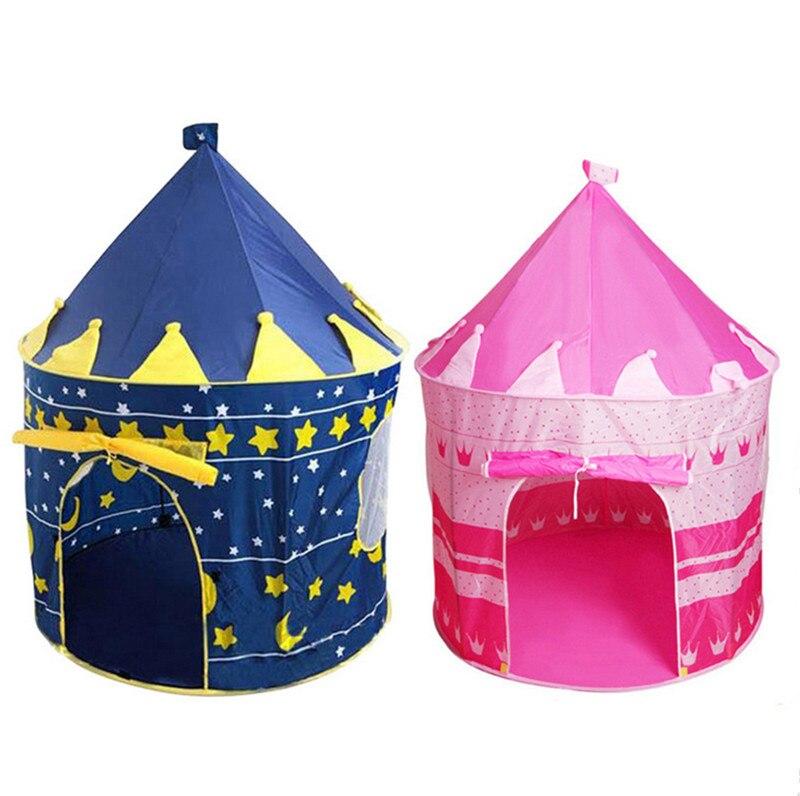 Cadeau pour Enfants Maison de Jeu Princesse tentes pour Enfants dans la Maison Brown Tente pour Enfants Tente pour Enfants color/ée