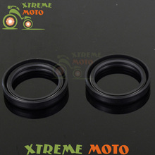 Shock Absorber Fork Dust Oil Seals For Honda CR125R CR250R CR500R Kawasaki KX125 KX250 KX500 ZX600 ZZR ZX6R ZX900 ZX9R Enduro