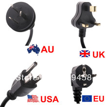 4ft 1.2m Power Cord Lead Cable to 3 Pin For Laptop AC POWER ADAPTOR