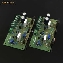 2 PCB Mono channel A-30 Pure Class A 30W+30W high-current FET Power amplifier board(China)