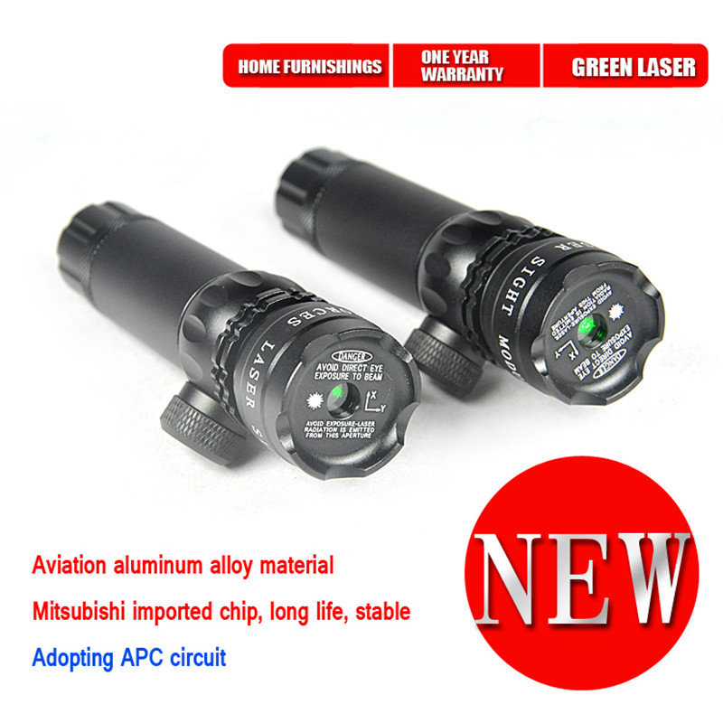 New Tactical Outside Cree Green Dot Laser Sight Adjustable Switch Rifle Scope With Rail Mount For Gun Hunting<br><br>Aliexpress