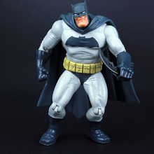 "DC Superheros Super Hero Fat Batman Movable PVC Action Figures Collectible Model Toy Kids Gift 7"" 18cm KT226(China)"