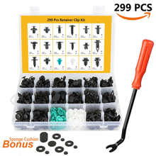 Buy 299pcs Car Styling Retainer Clips & Plastic Fasteners Kit 18 Sizes Push Pin Rivets Set Dongfeng H30 Cross Oting Rich S30 for $25.50 in AliExpress store