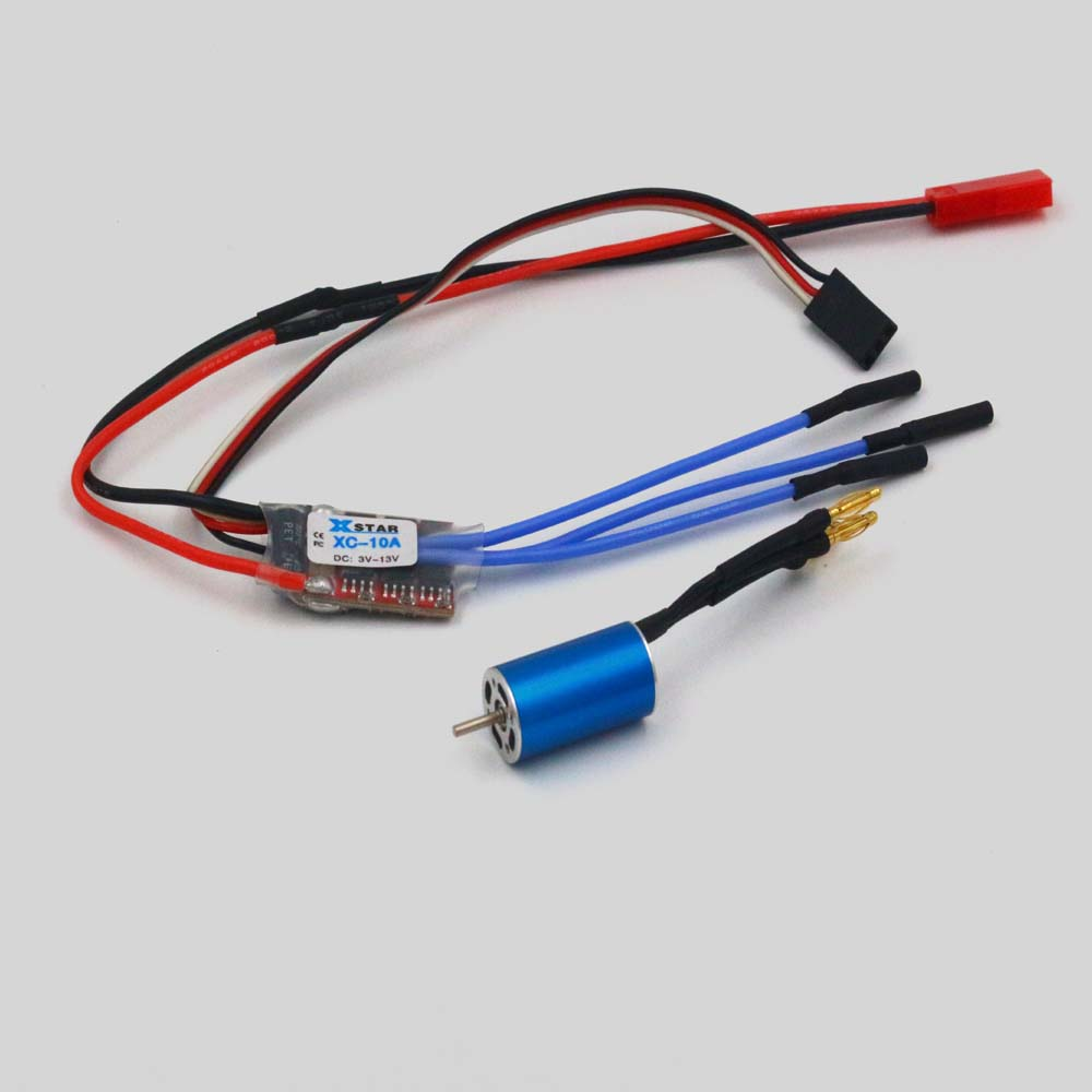 DC 1S-2Sl lithium battery 12 * 22 * 1.5MM 1222-KV10300 brushless motor electrical toys / DIY accessories<br>