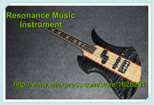 """High Quality Mockingbird Model Rosewood Fingerboard 4 Strings B.C.Rich Electric Bass Guitar Maple Neck with Active Pickups ""(China)"