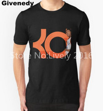 Kevin Durant T Shirt Men KD  Short Sleeve  T-shirts  Fitness Hip Hop Tops Tees