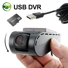 MJDXL The USB DVR Camera for Android 4.2 / 4.4 / 5.1.1 Car PC DVD Player Headunit Support SD Card