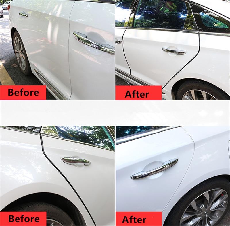 Universal Moulding Trim Strip Car Door Scratch Edge Guard Cover Crash Protective