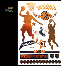 2015 new NBA basketball star temporary tattoo bracelet tipping non-toxic waterproof disposable flash arm tattoo body art tattoo(China)