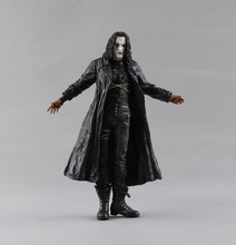 2015 Free Shipping Bulk NECA OriginalsThe Crow Brandon Lee Doll Statue Mark Of Good Quality Brandon Lee Vs bad guys Boss toys(China)