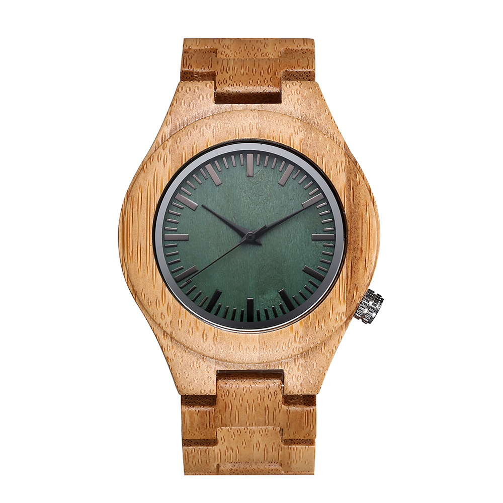 Full Bamboo Wooden Watch for Men and womenTop Brand Luxury Quartz Wooden Band Luminous Needle Wrist Watches in Gift Box<br>