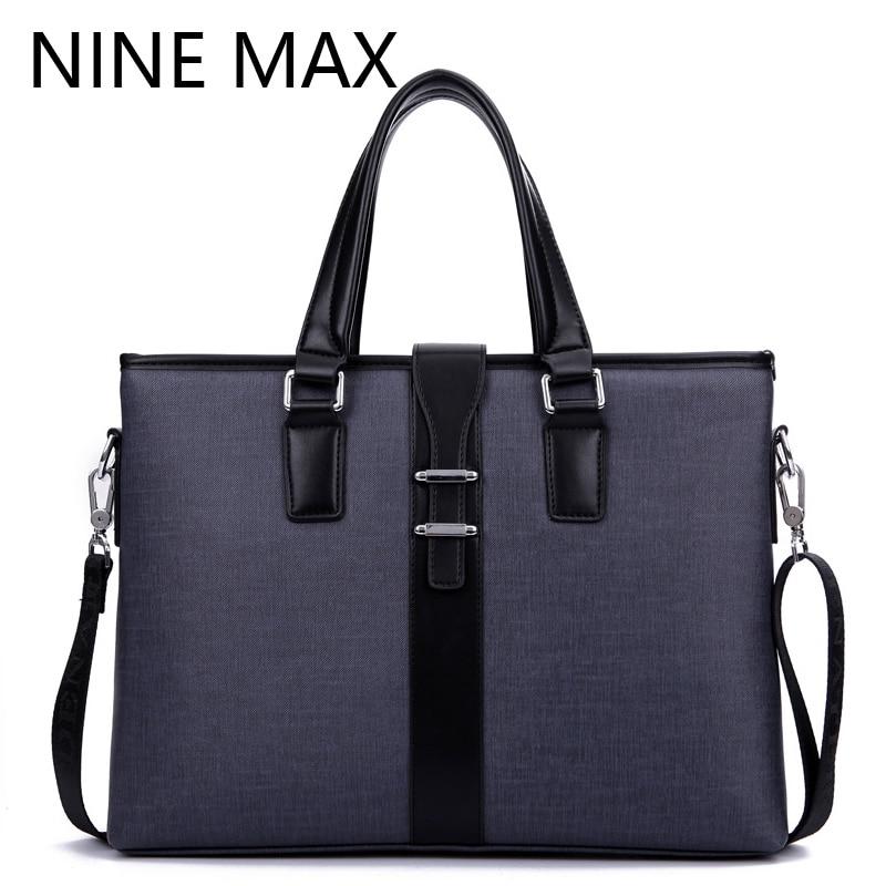 DANTENS Brand Designer Men PVC Handbags Fashion Men Shoulder Messenger Bag Durable Business Briefcase Handbag for Laptop Bags<br>