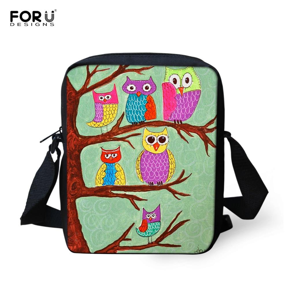 Small Women Ladies Messenger Bag Fashion Handbags Animal Owl Printed Girls Messenger Bags Crossbody Bag for Women Satchel Bag<br><br>Aliexpress