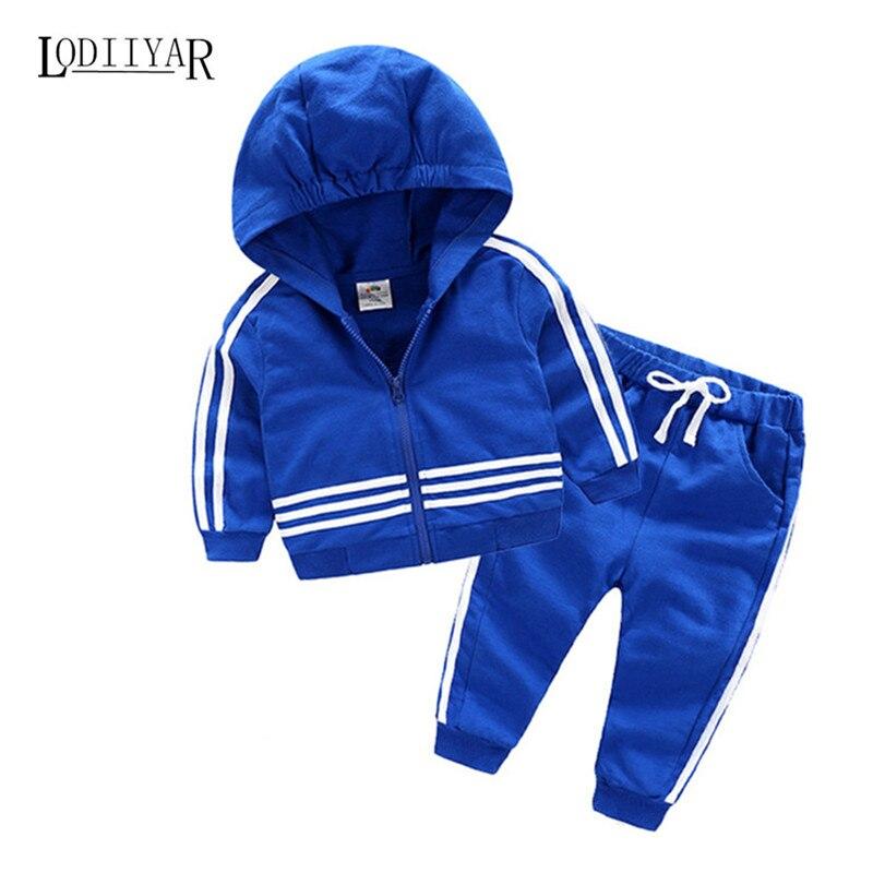 1pcs Coat + 1pcs Pant Boys Clothes Suit, Kids Sport Suit, Casual Outerwear Striped Long Sleeve Spring Autumn Winter Clothing Set<br><br>Aliexpress