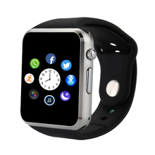 New Bluetooth Smart Watch A1 Wrist Watch With Sim Card Memory Card Solt Support WhatAPP Facebook Twitter For Android Smart Phone