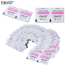 Elite99 100pcs/ Lot Nail Art Acrylic UV Gel Polish Remover Nail Cleaner Easy Use Gel Polish Remover Wraps Manicure Tools(China)