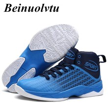 Beinuolvtu sport shoes men basketball shoes high-top sneakers sports shoes basketball sneakers shoes 39-44