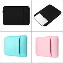 "Neoprene Laptop notebook case sleeve bag Computer Cover Pouch for 11""12""13""15""15.6"" Macbook Pro Air Retina Tablet PC Carry Bag"