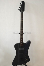 TOP quality  Best price 4 strings bass guitar thunderbird bass Black Color free shipping