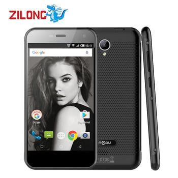 원래 NOMU S20 IP68 방수 5.0 인치 HD MTK6737T 쿼드 코어 1.5 천헤르쯔 안드로이드 6.0 4 그램 LTE 모바일 전화 3 기가바이트 32 기가바이트 8.0MP 핸드폰