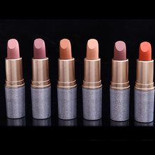 12 Colors Bullet Head Velvet Matte Lipstick Waterproof Lip Gloss Long Lasting Moisturizer Red Lip Makeup Batom Korean Cosmetics(China)