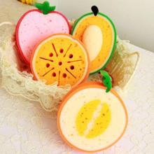 Cartoon fruit Style Bath Brushes towel accessories Children Shower faucet Wash Child Brush bath brushes sponges Rub Rubbing Body(China)