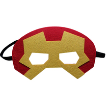 1pc Iron Man Mask Super Hero Black Widow Captain America Hawkeye Marvel's The Avengers Kids Birthday Gift Cosplay Party Supplies(China)