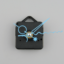 New arrival simple design 1Pc Blue Stitch Clock Movement Replacement DIY Tool Kit with hooks
