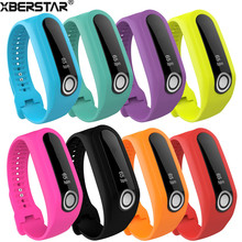 1 PC Silicone Replacement Wrist Band Strap For TomTom Touch Fitness Tracker 8 Colors