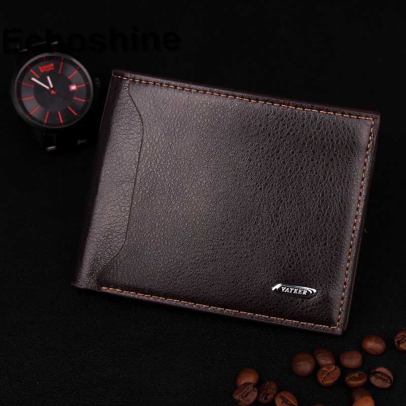 2016 Man Wallets Cross-section Simplicity Soft Surface Embossed Wallet Credit Card Coin Purse Clutch Pockets gift wholesale <br><br>Aliexpress